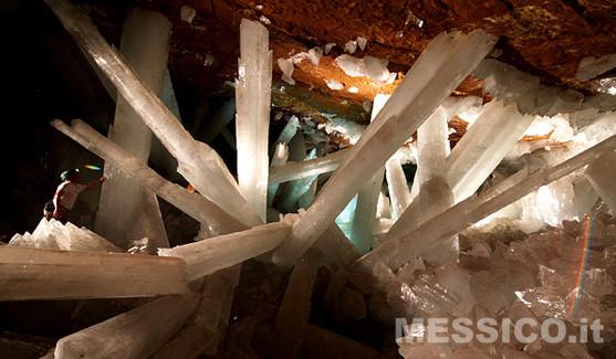 La meravigliosa Cuevas de Los Cristales a Naica