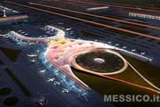 Il nuovo aeroporto della capitale del Messico