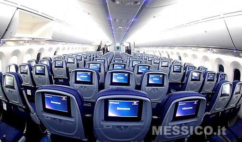 Nuovo Boing 787-8 per la Aeromexico