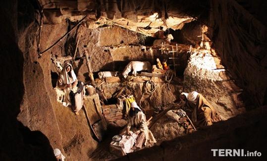 Presepe nel Pozzo della Cava di Orvieto