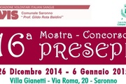 Mostra Concorso Presepi 2014 a Saronno