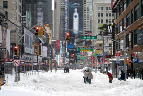 Allerta Meteo Tempesta di Neve a New York