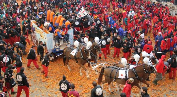 Battaglia delle Arance - Carnevale di Ivrea