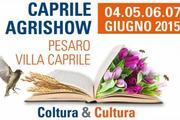 Caprile Agrishow 2015 a Pesaro
