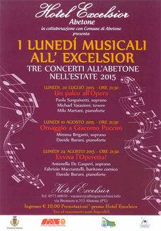 I Lunedì musicali - Concerti ad Abetone