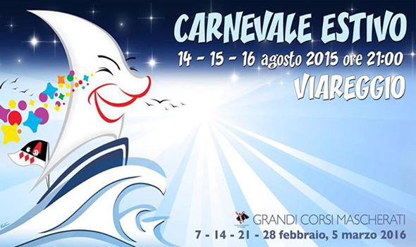Carnevale Estivo a Viareggio il 14, 15 e 16 Agosto 2015