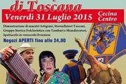 Arti e Mestieri, Suoni, Sapori e Colori di Toscana a Cecina