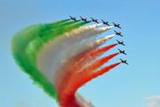 Le Frecce Tricolori a Livorno
