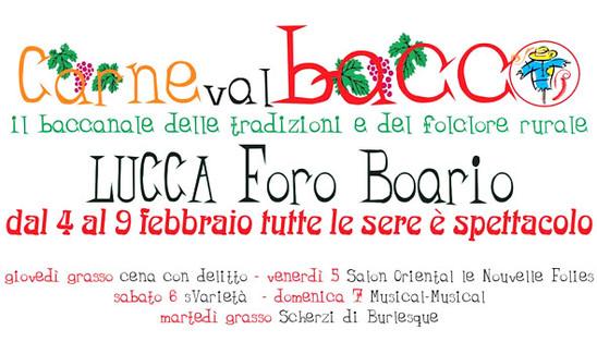 Carneval Bacco a Foro Boario - Lucca