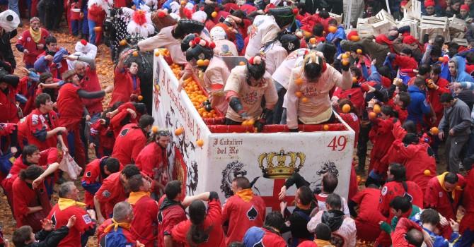 Edizione 2019 dello Storico Carnevale di Ivrea