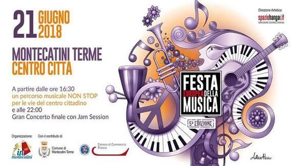 FESTA EUROPEA DELLA MUSICA A MONTECATINI