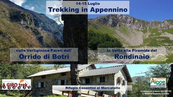 Due giorni di trekking in Appennino