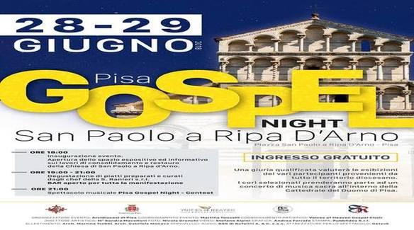 Arriva il Pisa Gospel Night 2018