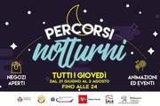 I percorsi notturni del giovedì a Pistoia