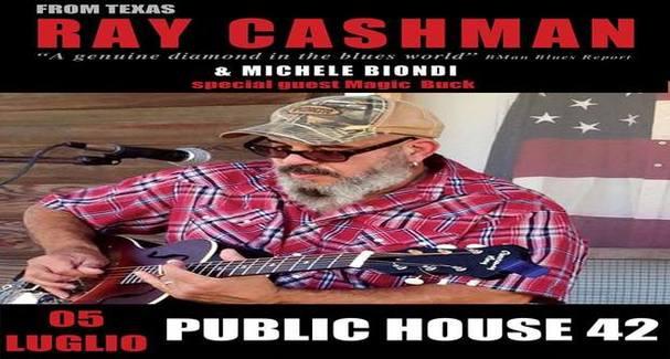 Grande Blues con Ray Cashman e Michele Biondi