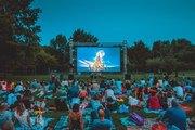 Il cinema all'aperto al Parco