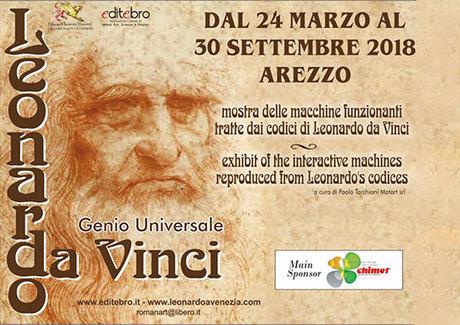 Mostra delle macchine funzionanti tratte dai codici di Leonardo da Vinci