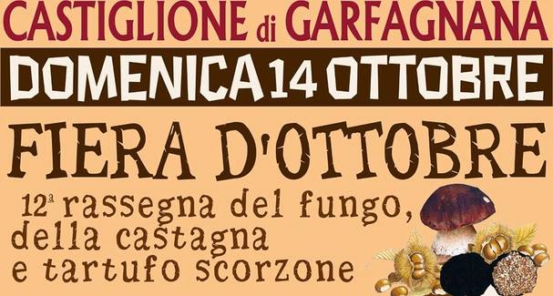 Fiera di ottobre a Castiglione di Garfagnana