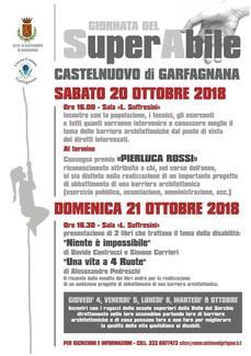 Giornate del SuperAbile a Castelnuovo di Garfagnana