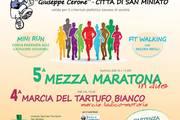 8 mezza maratona a San Miniato Pisa Giuseppe Cerone