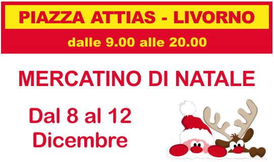 Mercatino di Natale in Piazza Attias