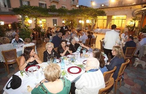 14 agosto 2020 Tradizionale cena sotto le stelle in via Cavallotti a Montecatini