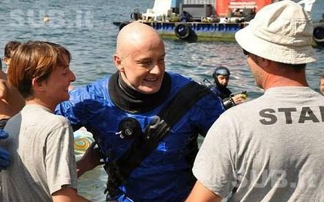 Record Mondiale Sub Italiano, 50 ore di immersione Lago di Como