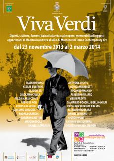 La Mostra VIVA VERDI al MoCa di Montecatini Terme